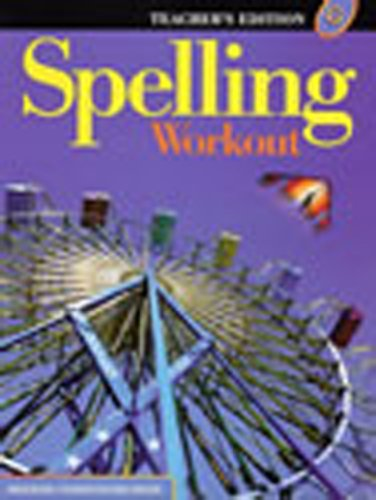 9780765224941: Spelling Workout: Level G