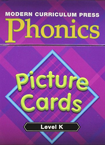 9780765226297: Modern Curriculum Press Phonics Level K Picture Cards 2003c
