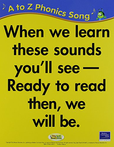 9780765231833: SING, SPELL, READ AND WRITE A THRU Z PHONICS SONG CARDS '04C