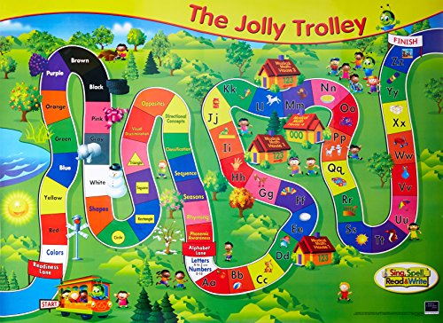9780765232267: SING, SPELL, READ AND WRITE PRE-KINDERGARTEN JOLLY TROLLEY CHART '04C