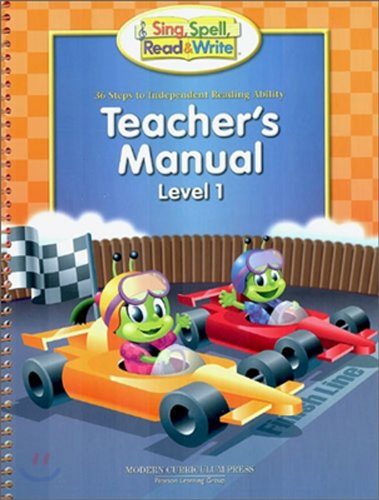 9780765238726: SING, SPELL, READ, AND WRITE LEVEL ONE RACEWAY ANNOTATED TEACHER EDITION 2004C