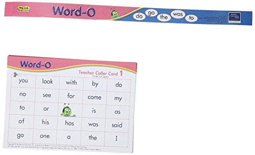 SING, SPELL, READ, AND WRITE WORD-O GAME 2004: MODERN CURRICULUM PRESS