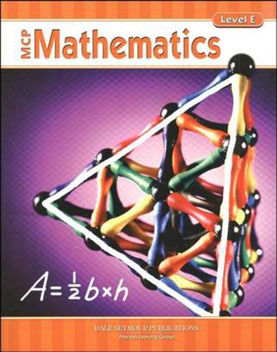 9780765260642: MCP MATHEMATICS LEVEL E STUDENT EDITION 2005C