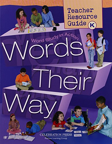 9780765267009: Words Their Way: Teacher Resource Guide