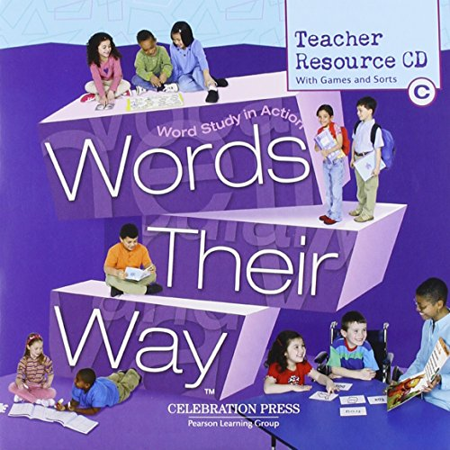 9780765267542: WORDS THEIR WAY LEVEL C CD-ROM 2005C