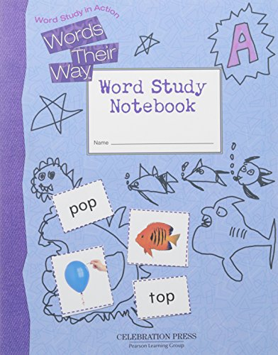 9780765267597: WORDS THEIR WAY LEVEL A STUDENT NOTEBOOK 2005C
