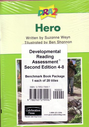 Developmental Reading Assessment Second Edition 4-8; Benchmark Book Package of 28 Different Titles:...