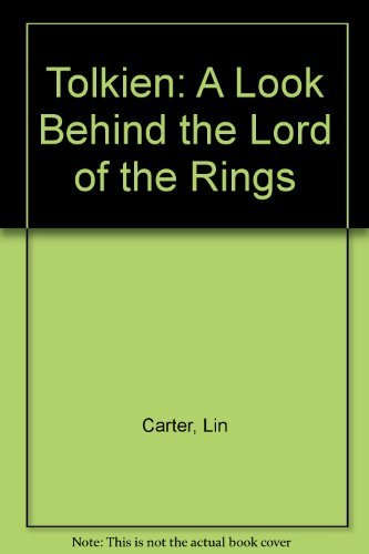9780765307200: Tolkien: A Look Behind the Lord of the Rings
