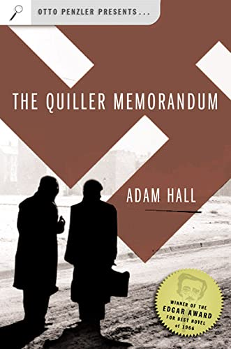 9780765309679: The Quiller Memorandum