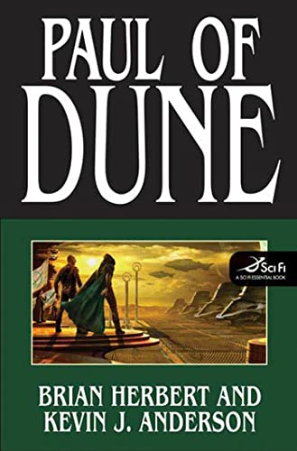 "Dune: Paul of Dune "" Signed "": Herbert, Brian and Anderson, Kevin J."