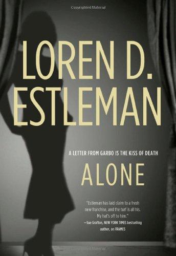 Alone (Valentino Mysteries): Loren D. Estleman