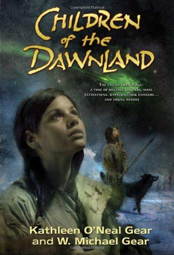 Children of the Dawnland 9780765320193 The end of the Ice Age: A time of melting glaciers, mass extinctions, unpredictable dangers...and young heroes Though only twelve summers old, Twig is a talented Dreamer. Sometimes she has spirit dreams—dreams that come true. But her mother has always discouraged Twig from exploring her powers for fear that they would turn her strange, like the reclusive witch-woman Cobia. When Twig begins to have recurring nightmares about a green light exploding from the sky and causing widespread destruction, she must find the courage to defy her mother and learn to become a Spirit Dreamer. Helping Twig on her quest are her best friend, Greyhawk, and Screech Owl, a shaman who has been banished from the village. Together, they must persuade their people to leave the land of their ancestors and journey to the mysterious Duskland, far from only home they've ever known. Can Twig convince the Elders that she is a true Spirit Dreamer—before it's too late? Set 13,000 years ago in what is now the northeastern United States and Ontario, Canada, Children of the Dawnland is an unforgettable adventure about a visionary girl by internationally-bestselling authors and archaeologists Kathleen O'Neal Gear and W. Michael Gear. In writing and researching this book, the Gears visited the archaeological sites in New York, Ontario, Ohio, and Pennsylvania that play a role in the story. By allowing us to see through the eyes of prehistoric cultures, the Gears hope we can learn from them at a time of similar environmental change.