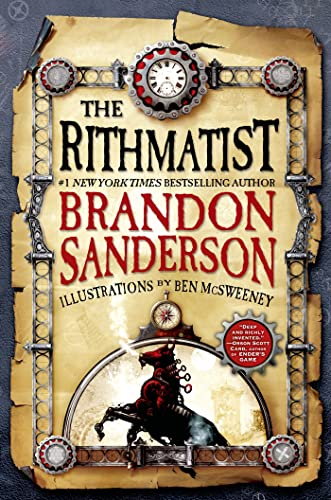 The Rithmatist. Illustrations by Ben McSweeney.