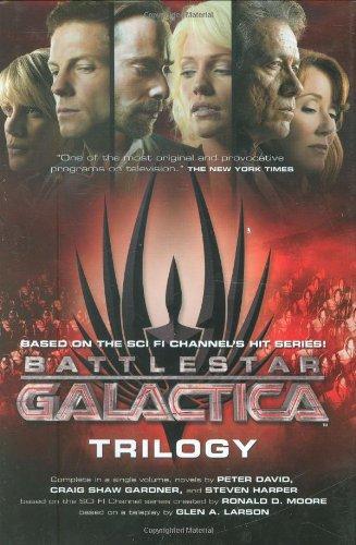 9780765323286: Battlestar Galactica Trilogy