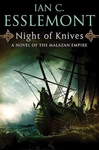 9780765323699: Night of Knives: A Novel of the Malazan Empire (Novels of the Malazan Empire)