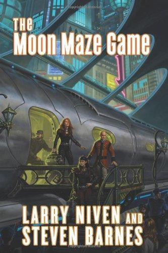 Moon Maze Game (Double Signed): Niven, Larry; Barnes, Steven