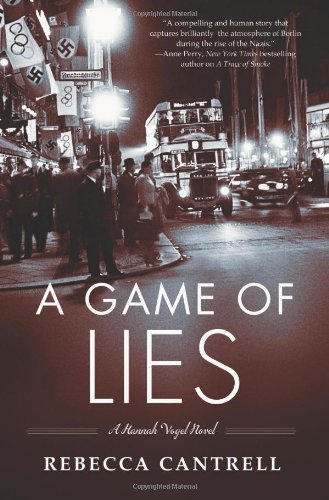 9780765327338: A Game of Lies (Hannah Vogel)
