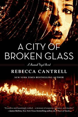 9780765327369: A City of Broken Glass (Hannah Vogel)
