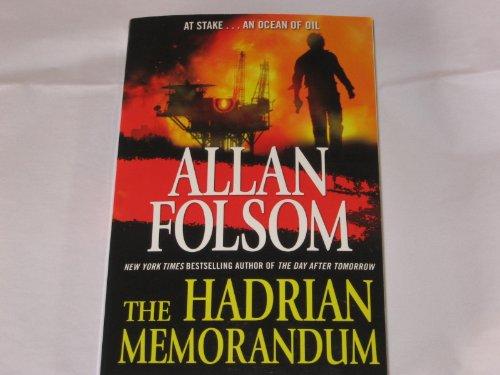 9780765328793: [The Hadrian Memorandum] [by: Allan Folsom]