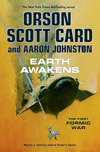 EARTH AWAKENS: Card, Orson Scott, and Aaron Johnson.