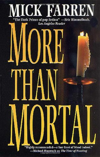 9780765342935: More Than Mortal