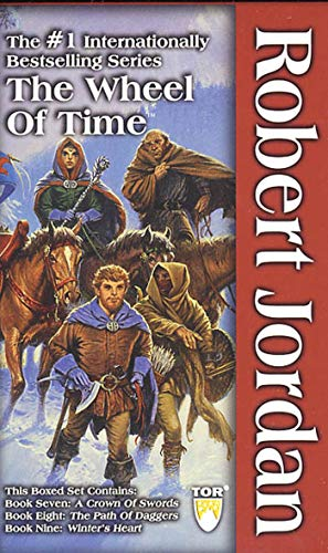 9780765344939: The Wheel of Time, Box Set 3: Books 7-9 (A Crown of Swords / The Path of Daggers / Winter's Heart)