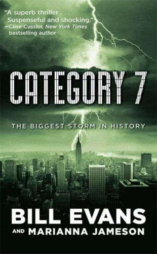 Category 7 9780765356710 Kate Sherman is a brilliant young meteorologist who can't understand how she recently missed predicting three major storms―storms that cut into the profits of her employer, Coriolis Industries. Afraid of being fired, Kate throws herself into an analysis of the strange storms―and headlong into the path of a secret plot that may cost her her life! Hurricane Simone is a Category 7―the biggest, strongest storm in recorded history―and she's clawing her way up the East Coast. When she hits New York City, skyscrapers will fall. Subways and tunnels will flood. Lower Manhattan and much of Queens and Brooklyn will disappear under more than thirty feet of water. Thousands, if not millions, will die. Created by secret, cutting-edge weather science, Simone is not just an unnatural disaster―she's a weapon. Kate and CIA weatherman Jake Baxter must figure out how to stop the storm before she flattens New York City . . . and identify Simone's master before he has them both killed.