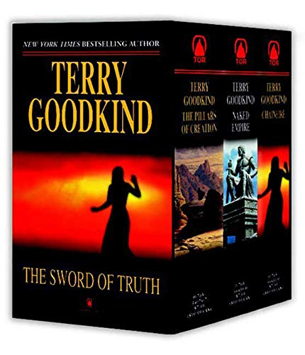 9780765356857: The Sword of Truth, Boxed Set III, Books 7-9: The Pillars of Creation, Naked Empire, Chainfire