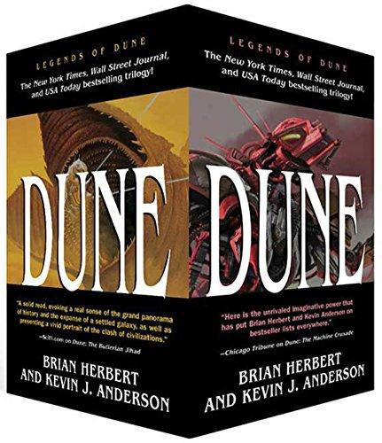 9780765357113: Dune Boxed Mass Market Paperback Set #1: Dune: The Butlerian Jihad, Dune: The Machine Crusade, Dune: The Battle of Corrin (Legends of Dune)