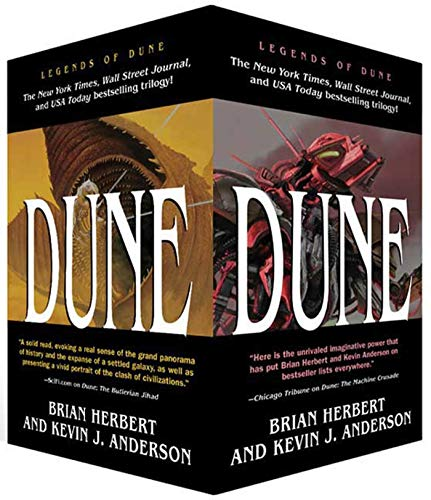 9780765357113: Legends of Dune Trilogy [Box Set] - (The Butlerian Jihad/The Machine Crusade/The Battle of Corrin)