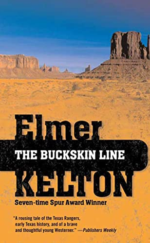 9780765360564: The Buckskin Line (Texas Rangers)