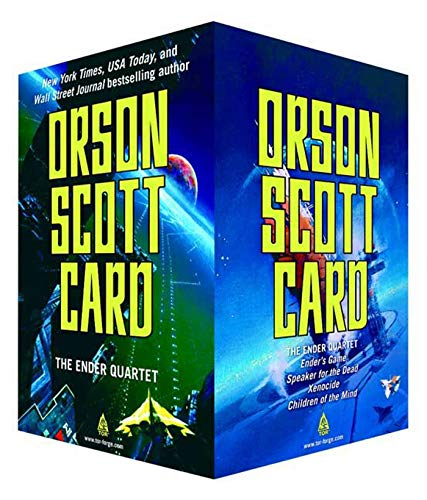 9780765362438: The Ender Quartet Boxed Set: Ender's Game, Speaker for the Dead, Xenocide, Children of the Mind (The Ender Quintet)