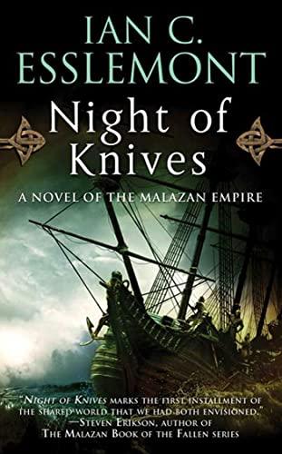 9780765363497: Night of Knives: A Novel of the Malazan Empire (Malazan Empire Novels (Unnumbered))