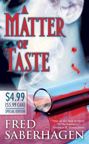 9780765366153: A Matter of Taste (Dracula)