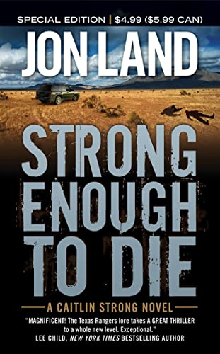 9780765369567: Strong Enough to Die: A Caitlin Strong Novel (Caitlin Strong Novels)