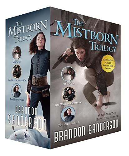9780765381521: Mistborn Trilogy TPB Boxed Set: Mistborn, The Hero of Ages, and The Well of Ascension