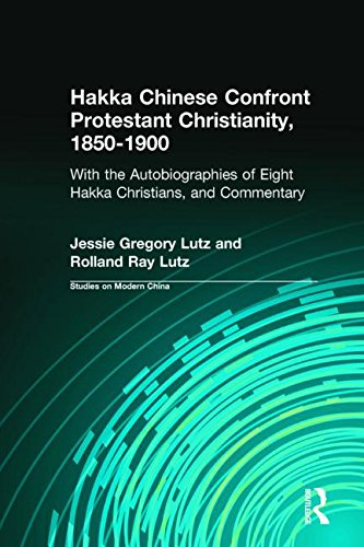 9780765600370: Hakka Chinese Confront Protestant Christianity, 1850-1900: With the Autobiographies of Eight Hakka Christians, and Commentary (Studies on Modern China)