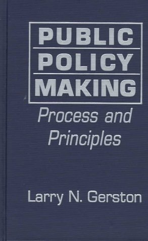 9780765600790: Public Policy Making