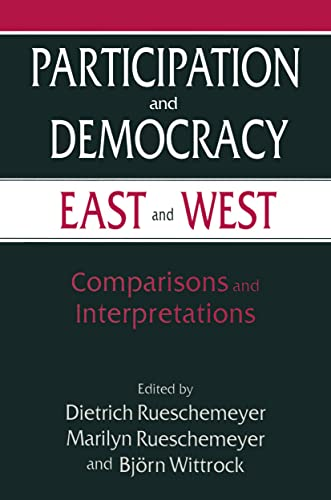 9780765602299: Participation and Democracy East and West: Comparisons and Interpretations (Power Engineering)
