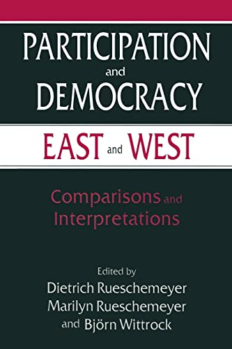 9780765602305: Participation and Democracy East and West: Comparisons and Interpretations