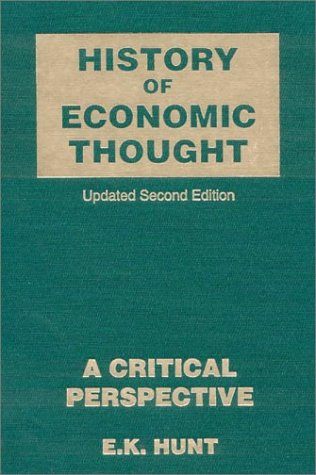 9780765606068: History of Economic Thought: A Critical Perspective