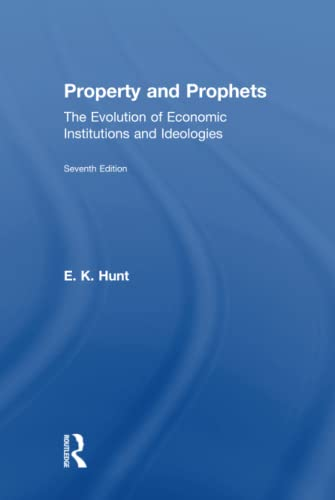 9780765606082: Property and Prophets: The Evolution of Economic Institutions and Ideologies