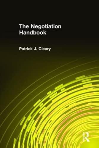 9780765607201: The Negotiation Handbook