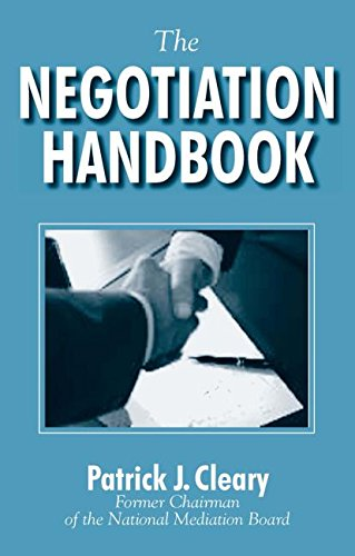 9780765607218: The Negotiation Handbook