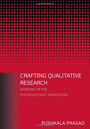 9780765607898: Crafting Qualitative Research: Working in the Postpositivist Traditions