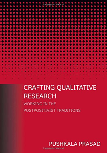 9780765607904: Crafting Qualitative Research: Working in the Postpositivist Traditions