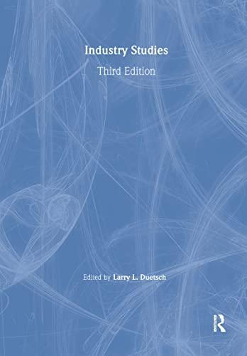 9780765609632: Industry Studies