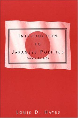 9780765613387: Introduction to Japanese Politics