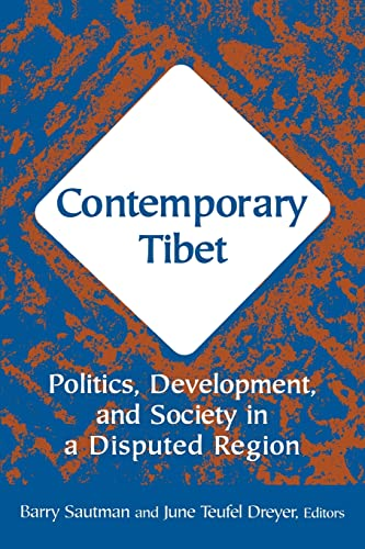 9780765613578: Contemporary Tibet: Politics, Development and Society in a Disputed Region