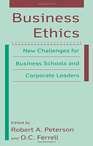 9780765614582: Business Ethics: New Challenges for Business Schools and Corporate Leaders